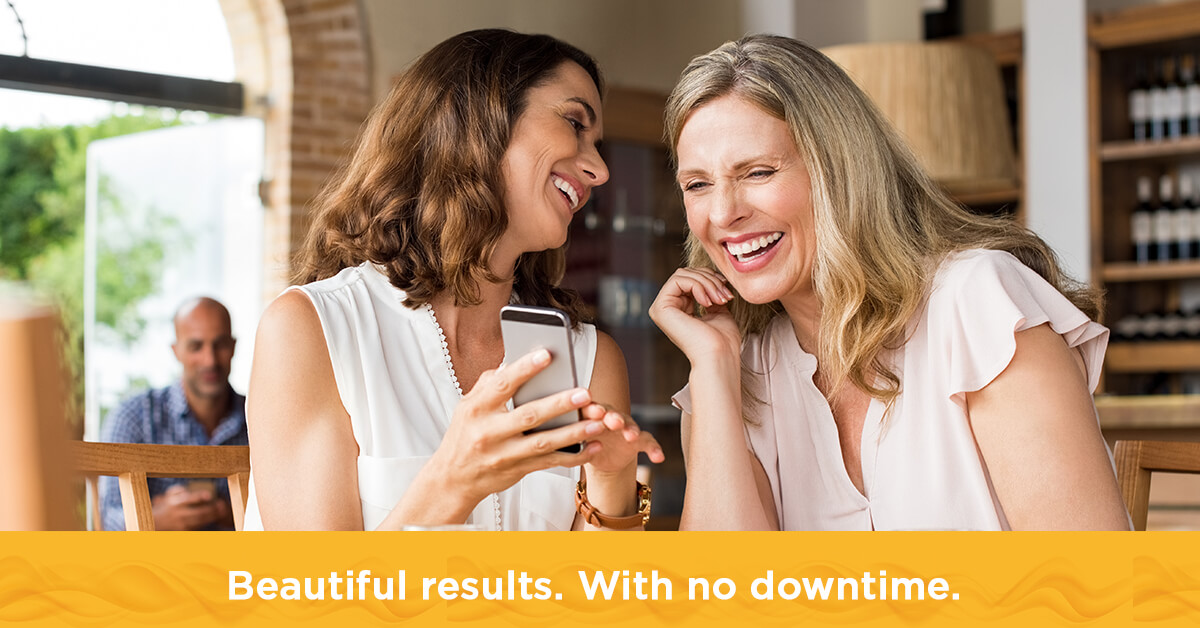 Beautiful results. With no downtime.
