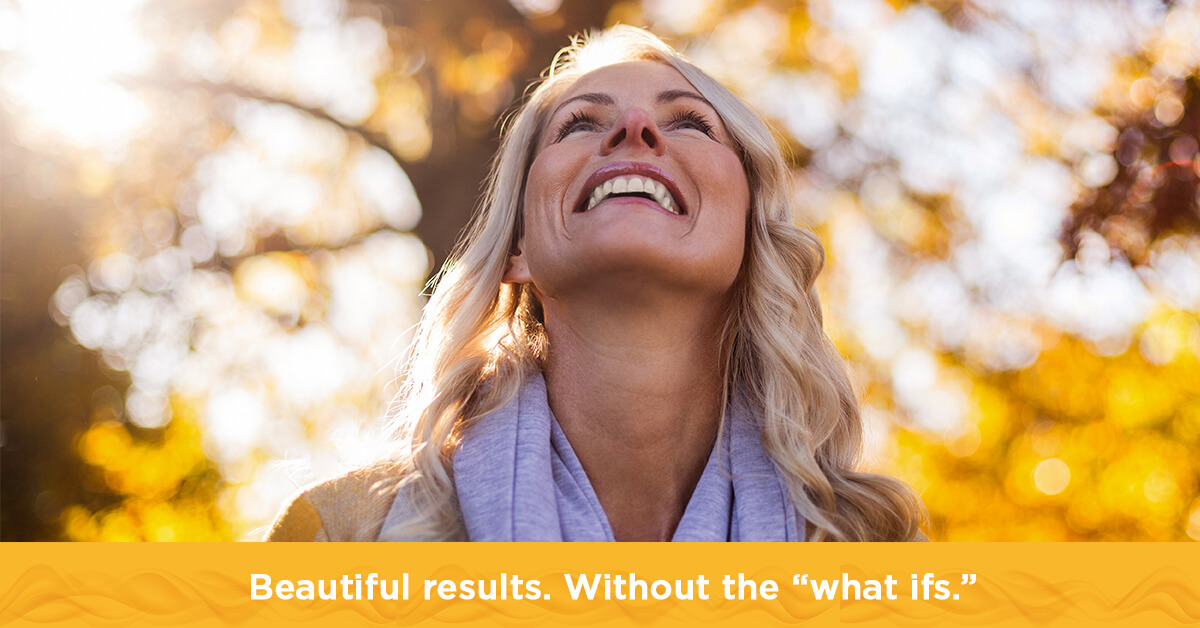 Beautiful results. Without the 'what ifs.'