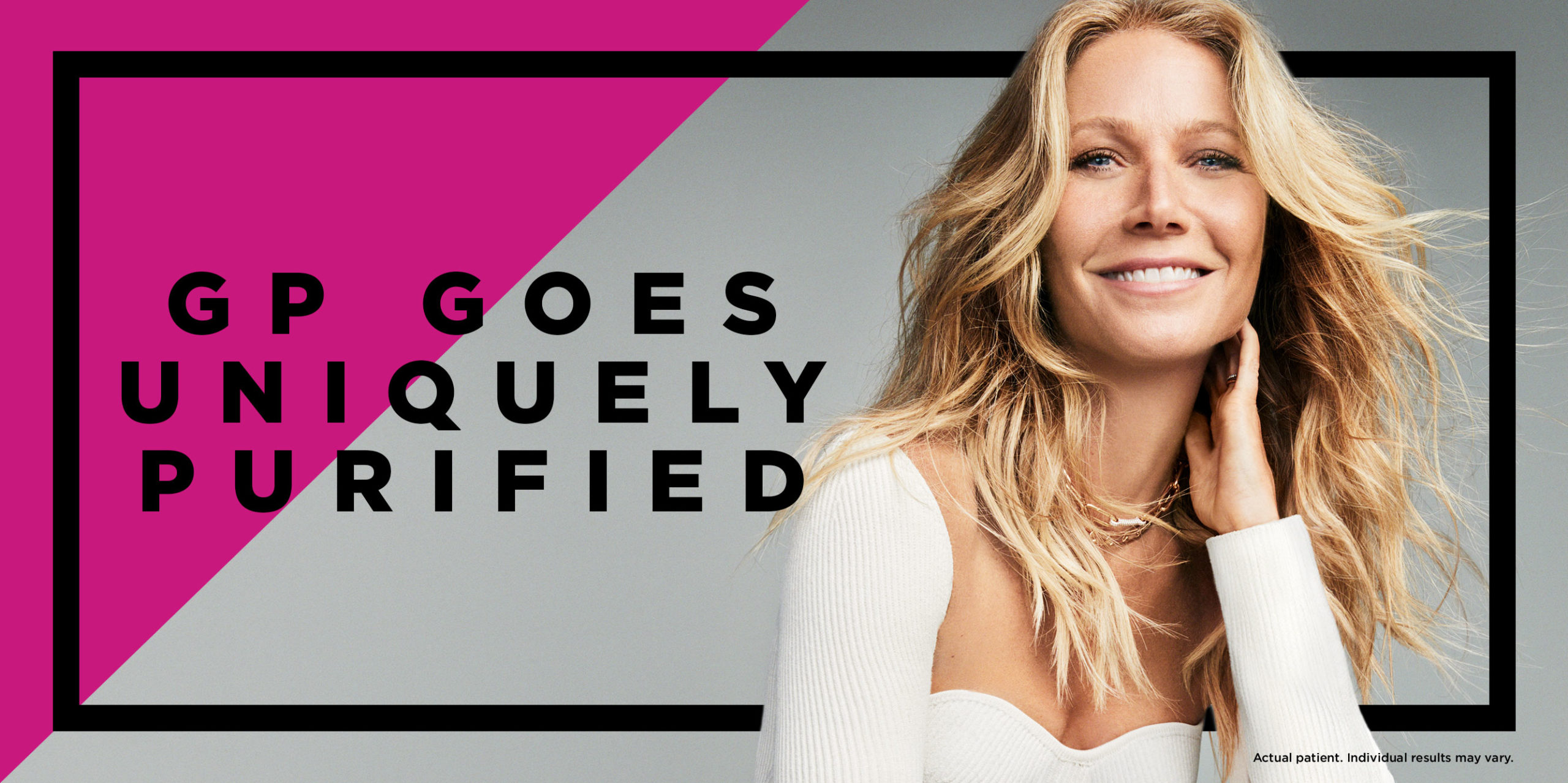 Gwyneth Paltrow Goes Uniquely Purified